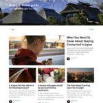 インバウンド誘客用として訪日を考えている外国人観光客向けにブログを制作・配信