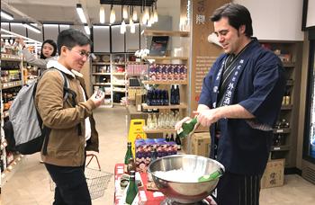 栃木の日本酒「燦爛」の海外進出 2017年
