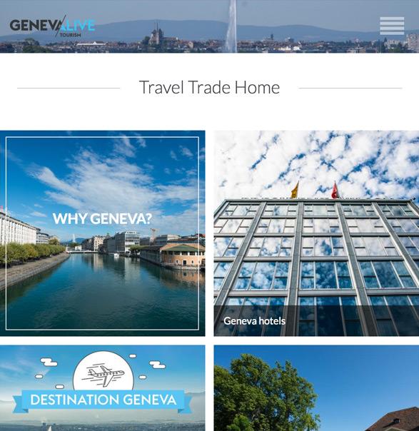 世界のDMO - ジュネーブ観光協会 旅行業界プレス向けページ